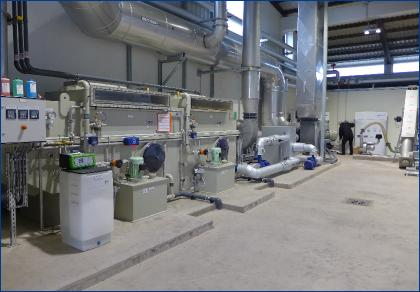 Continuous operation of the drying plant since October 2015